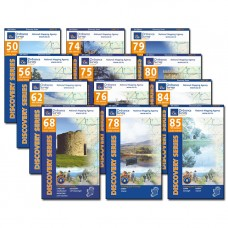 The E8 Irish Coast to Coast | 1:50,000 Discovery Series Map Bundle