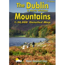 The Dublin & North Wicklow Mountains | 1:30,000 Scale Map