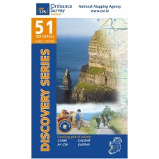 OSI Discovery Series | Sheet 51 | Part of Clare & Galway