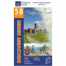 OSI Discovery Series | Sheet 58 | Part of Clare, Limerick & Tipperary