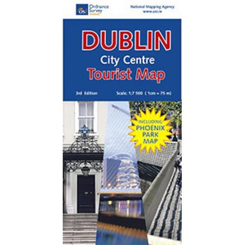 dublin city centre map
