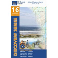 OSI Discovery Series | Sheet 16 | Part of Donegal, Fermanagh, Leitrim & Sligo