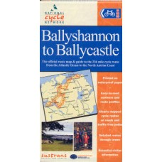 Sustrans Cycle Map | Ballyshannon to Ballycastle