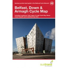 Sustrans Map 49 | Belfast, Down & Armagh Cycle Map