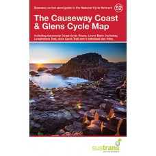 Sustrans Map 52 | The Causeway Coast & Glens Cycle Map