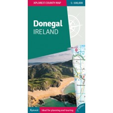 Xploreit Map of County Donegal