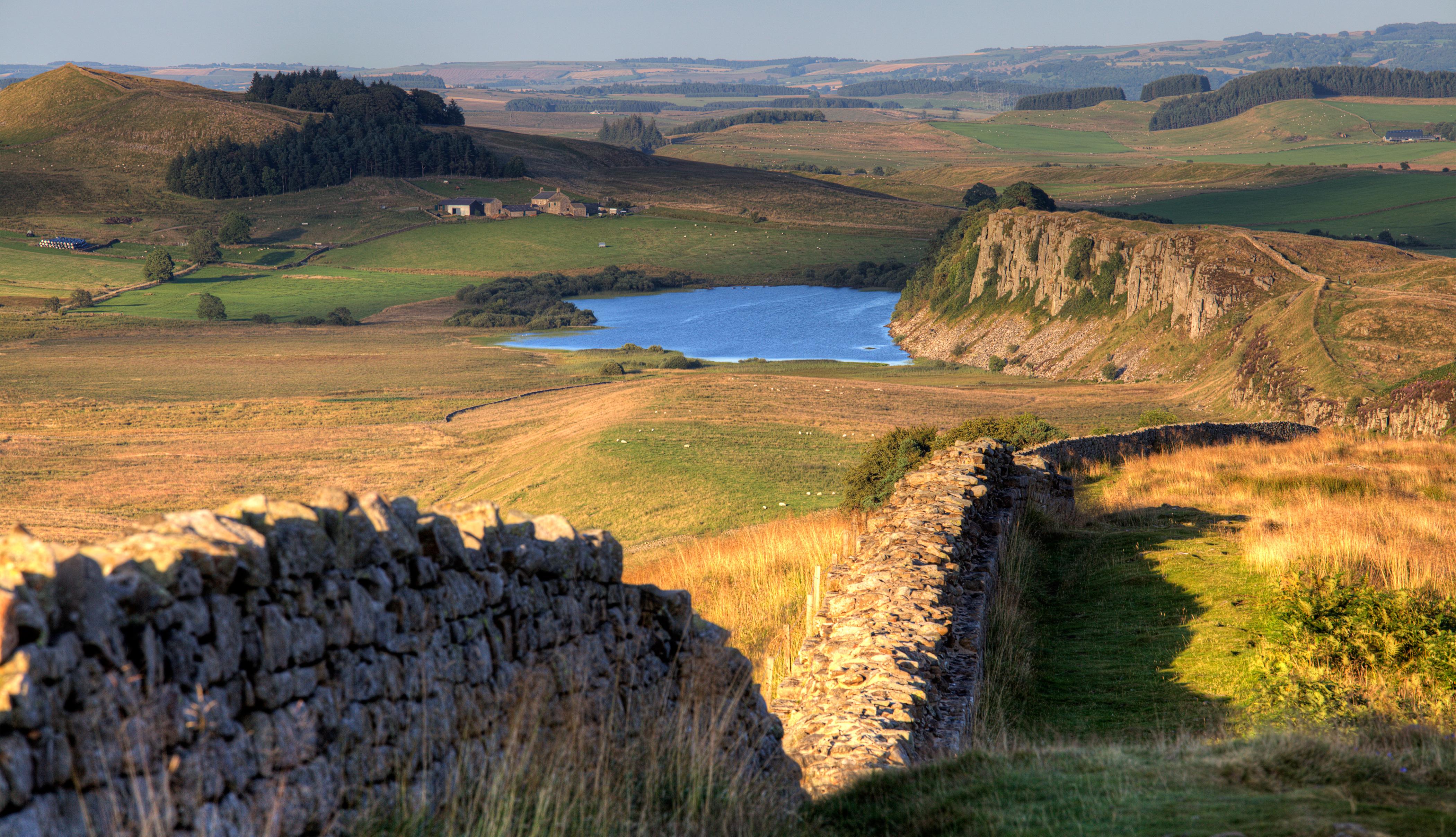 Crag Lough on Hadrian's Wall Path