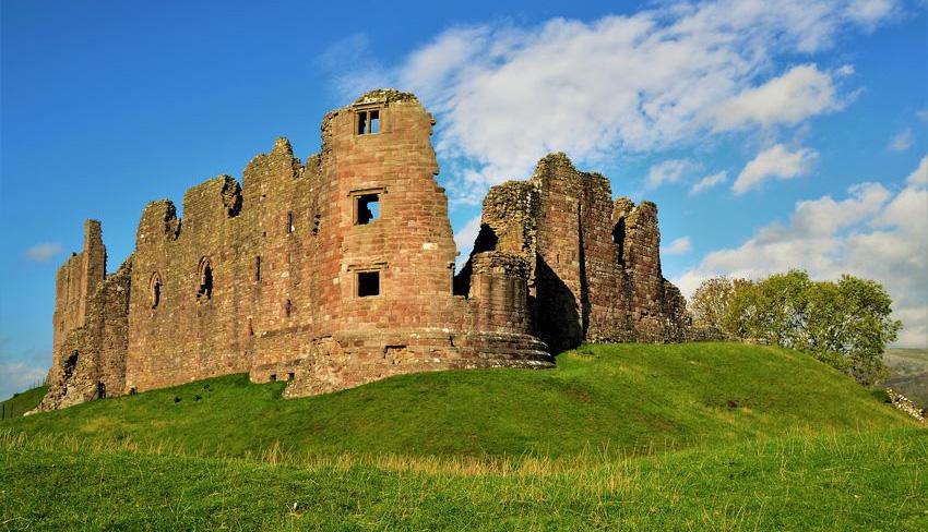 Brough Castle on Lady Anne's Way