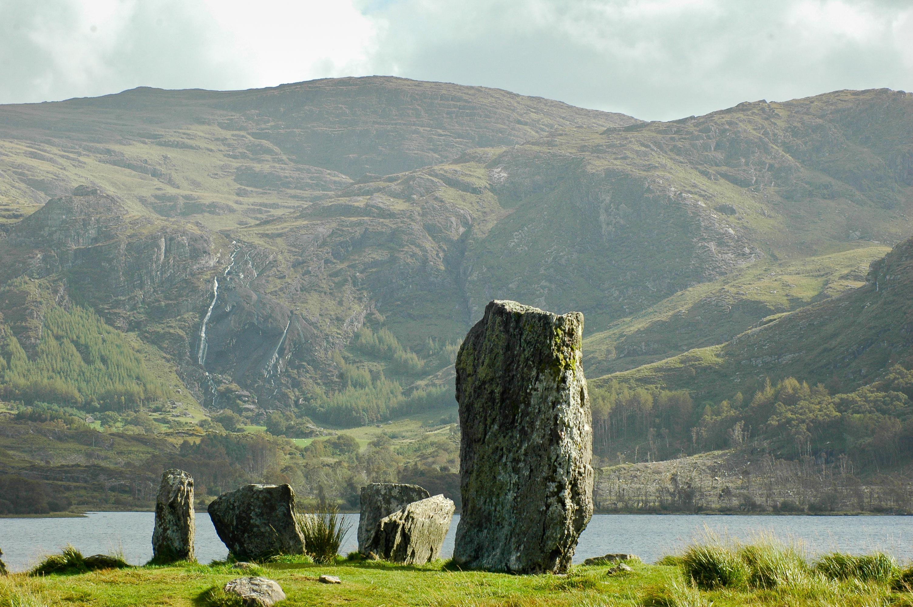 Uragh Stone Circle on the Beara Way