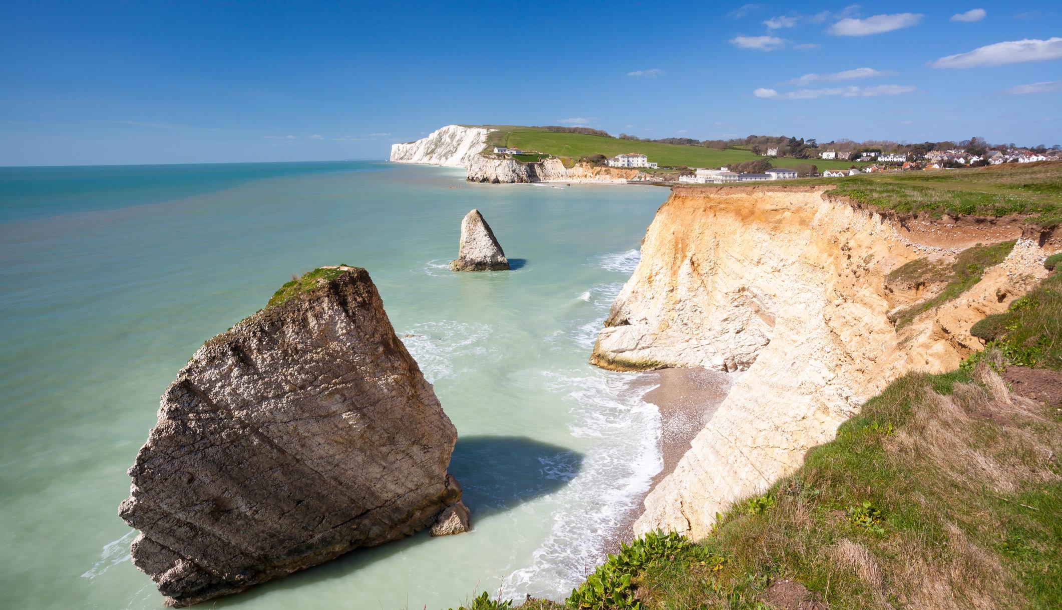 Freshwater Bay, Isle of Wight Coastal Path