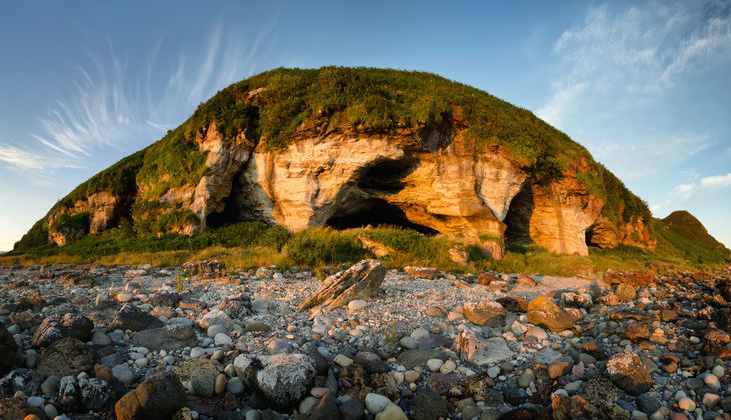 The King's Cave on the Arran Coastal Way