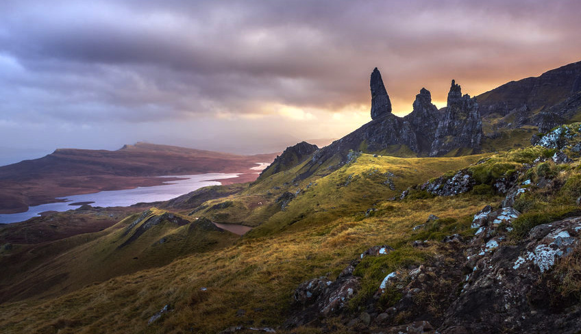 The Old Man of Storr on the Skye Trail