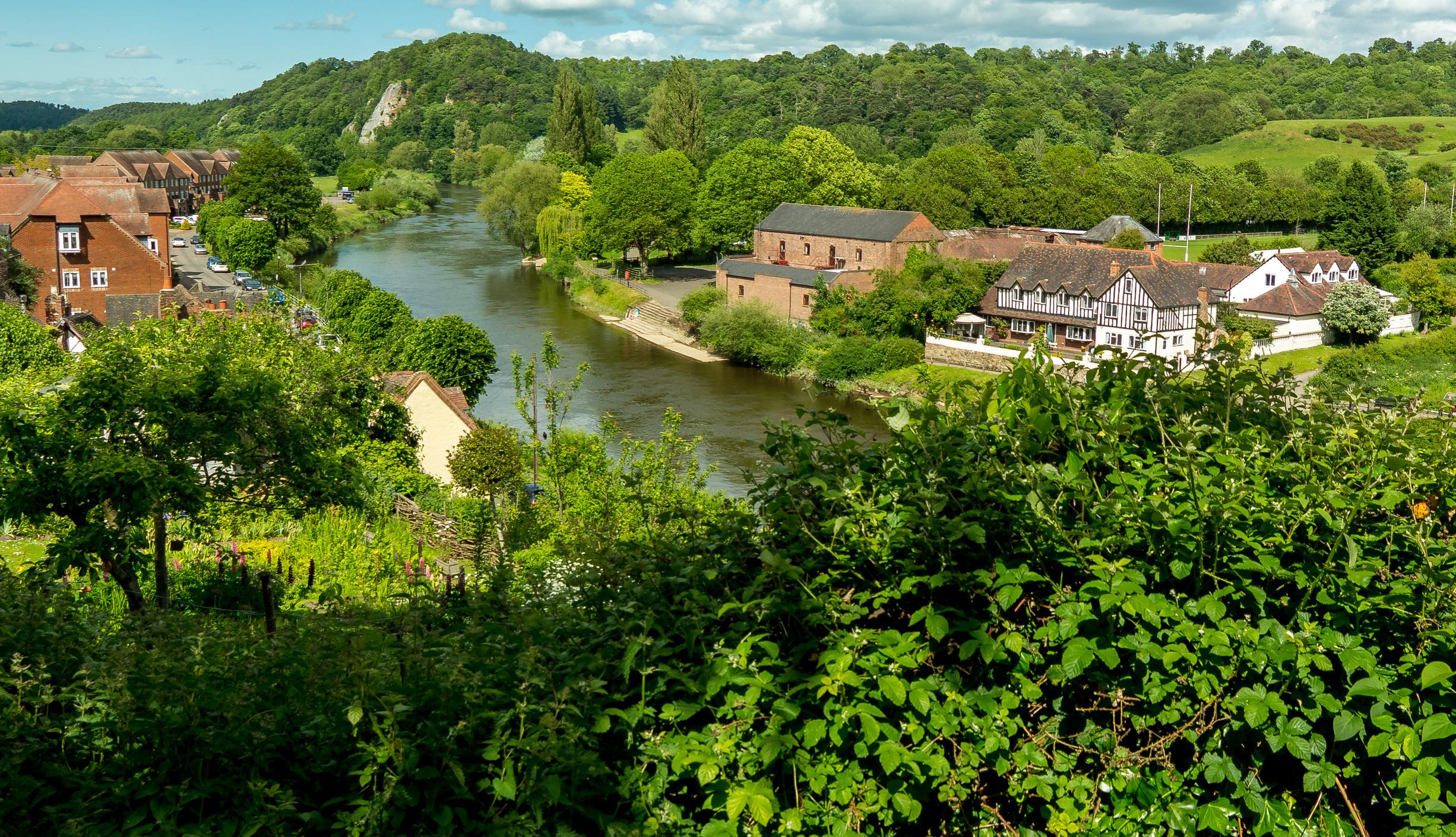 Bridgnorth on the Severn Way